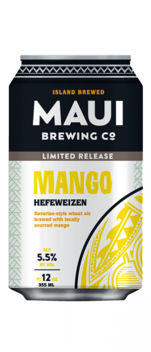 Mango Hefeweizen by Maui Brewing Co. in Hawaii, United States
