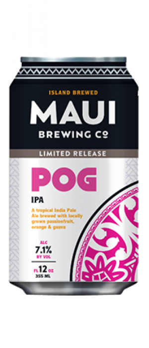 POG IPA by Maui Brewing Co. in Hawaii, United States