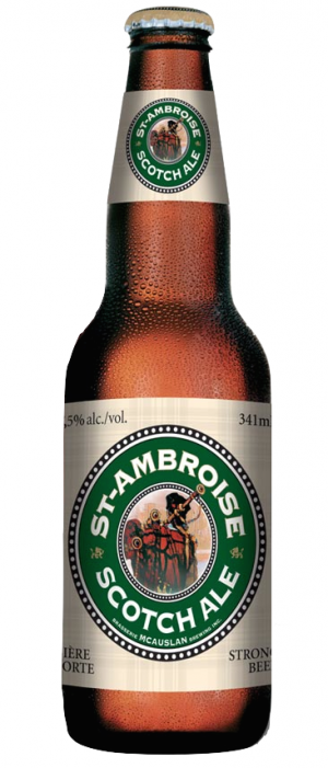 St-Ambroise Scotch Ale by McAuslan Brewery in Québec, Canada