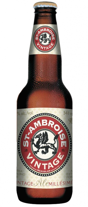St-Ambroise Vintage Ale by McAuslan Brewery in Québec, Canada
