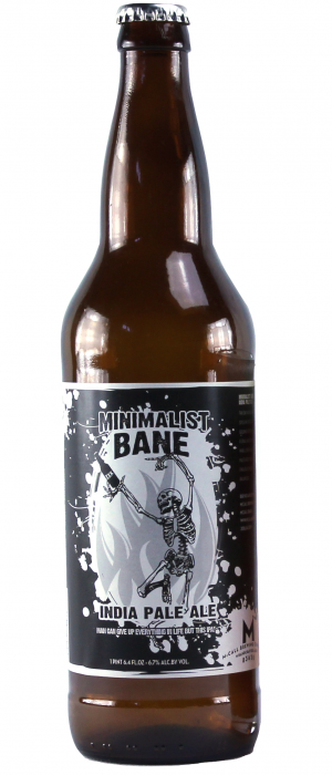 Minimalist Bane IPA by McCall Brewing Company in Idaho, United States