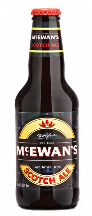 McEwan's Scotch Ale by McEwan's Brewery in Edinburgh - Scotland, United Kingdom