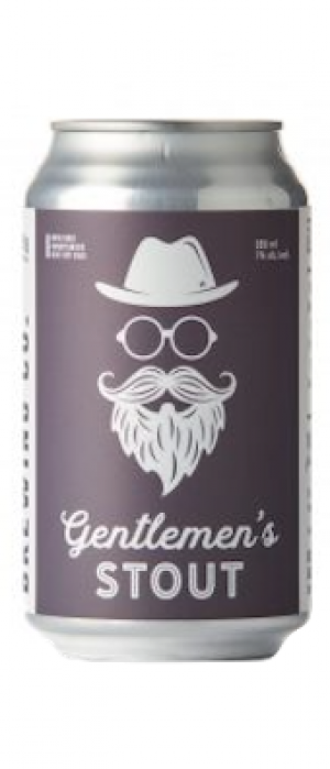 Gentlemen's Stout by Medicine Hat Brewing Company in Alberta, Canada