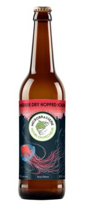 Meduse Dry Hopped Sour by Microbrasserie Houblon-Pêcheur in New Brunswick, Canada