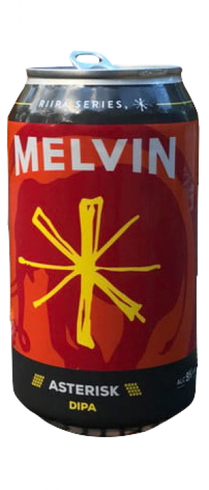 Asterisk Imperial IPA by Melvin Brewing in Wyoming, United States