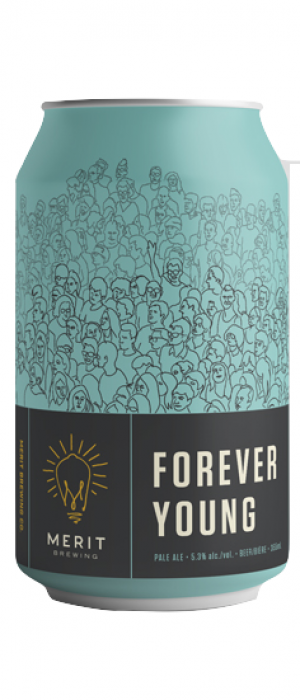 Forever Young by MERIT Brewing in Ontario, Canada