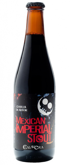 Mexican Imperial Stout by Calavera in México, Mexico