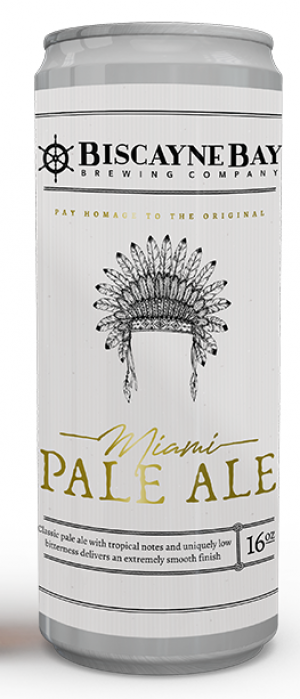 Miami Pale Ale by Biscayne Bay Brewing in Florida, United States