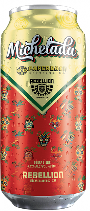 Michelada by Rebellion Brewing Co. in Saskatchewan, Canada