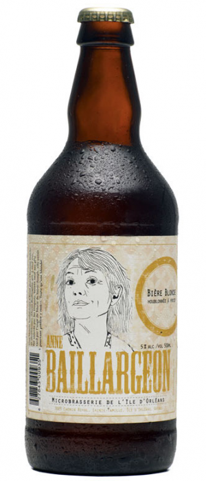 Anne Baillargeon by Microbrasserie de L'ile d'Orleans in Québec, Canada