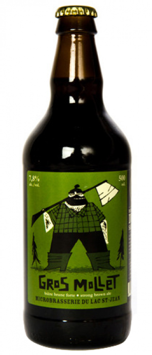 Gros Mollet by Microbrasserie du Lac St. Jean in Québec, Canada