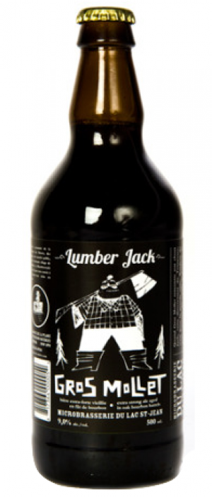 Lumber Jack Gros Mollet by Microbrasserie du Lac St-Jean in Québec, Canada