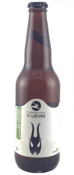 El Lapino by Microbrasserie du Lièvre in Québec, Canada