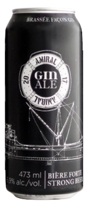 Amiral Gin Ale by Microbrasserie Le BockAle in Québec, Canada