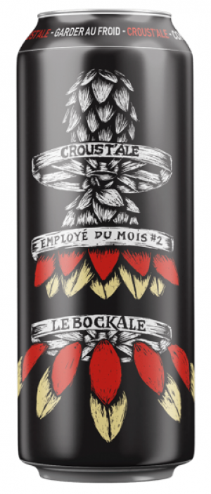 Croust'Ale by Microbrasserie Le BockAle in Québec, Canada