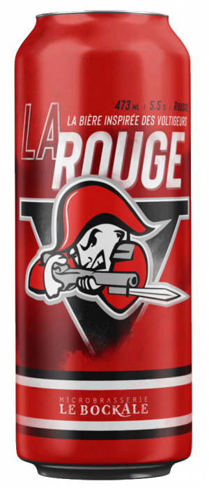 La Rouge by Microbrasserie Le BockAle in Québec, Canada