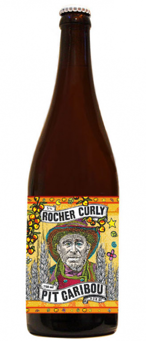 La Rocher Curly by Microbrasserie Pit Caribou in Québec, Canada