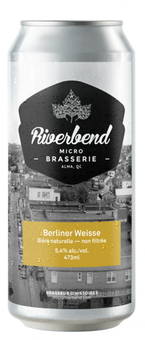 Berliner Weisse by Microbrasserie Riverbend in Québec, Canada