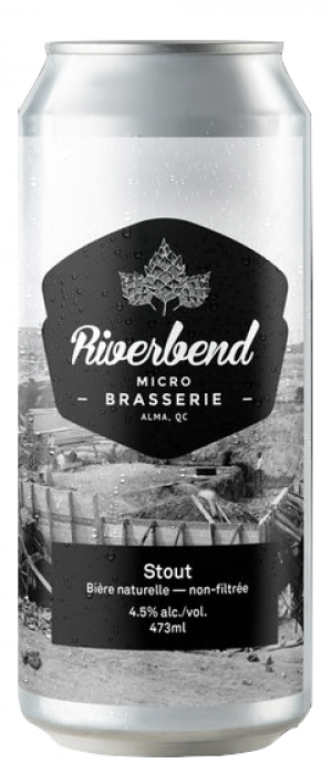Stout by Microbrasserie Riverbend in Québec, Canada
