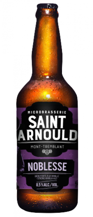 La Noblesse by Microbrasserie Saint-Arnould in Québec, Canada