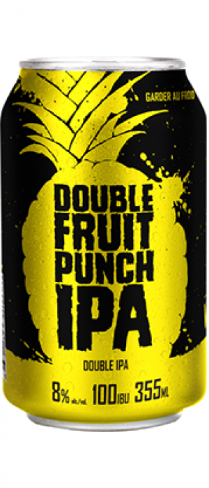 Double Fruit Punch IPA by Microbrasserie Vox Populi in Québec, Canada