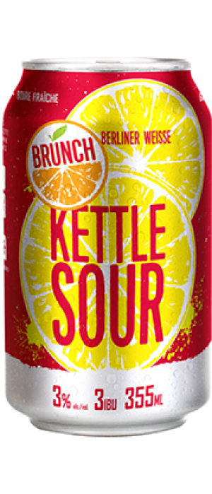 Kettle Sour Brunch by Microbrasserie Vox Populi in Québec, Canada