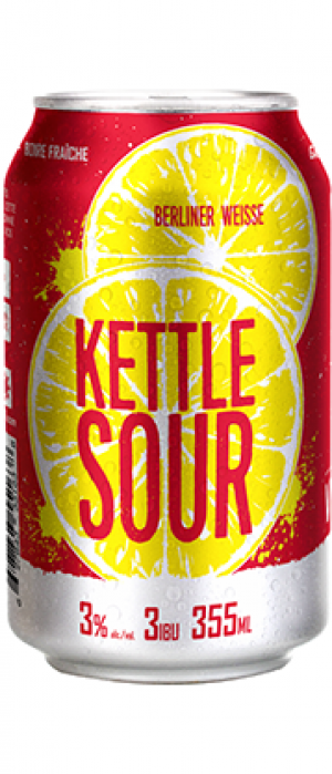 Kettle Sour by Microbrasserie Vox Populi in Québec, Canada