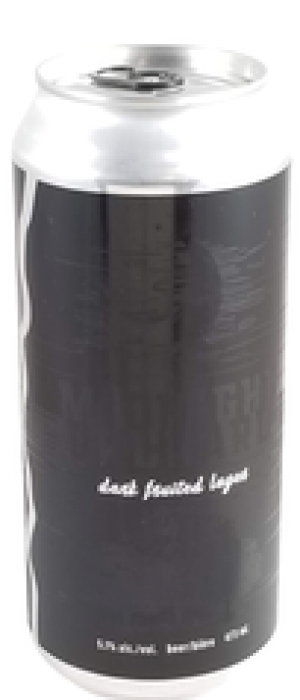 Midnight Orchard Dark Fruited Lager by Blindman Brewing in Alberta, Canada