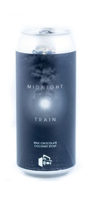 Midnight Train Milk Chocolate Coconut Stout by Boombox Brewing Company in British Columbia, Canada