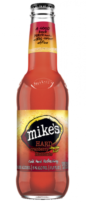Mike's Cranberry + Passion Fruit Lemonade