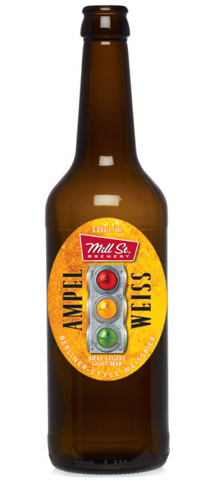 Ampel Weiss by Mill Street Brewery in Ontario, Canada
