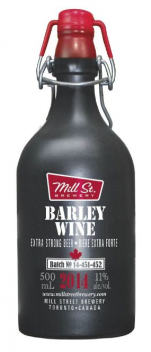 Barley Wine by Mill Street Brewery in Ontario, Canada