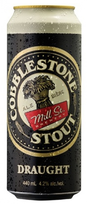 Cobblestone Stout by Mill Street Brewery in Ontario, Canada