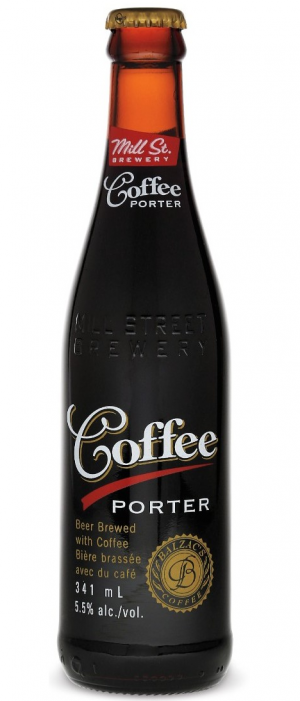 Coffee Porter by Mill Street Brewery in Ontario, Canada