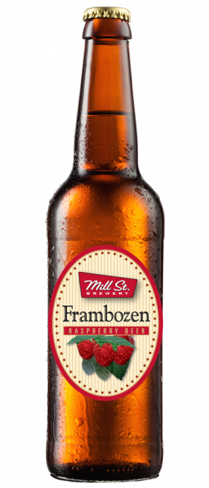 Frambozen Raspberry Beer by Mill Street Brewery in Ontario, Canada