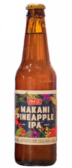 Makani Pineapple IPA by Mill Street Brewery in Ontario, Canada