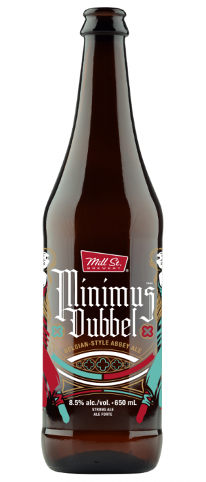 Minimus Dubbel by Mill Street Brewery in Ontario, Canada