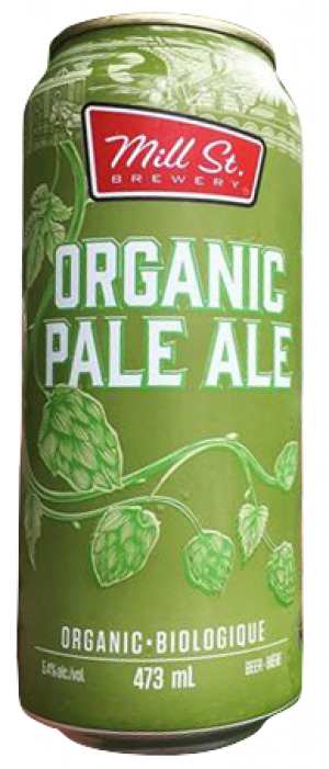 Organic Pale Ale by Mill Street Brewery in Ontario, Canada