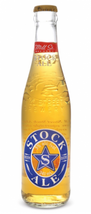 Stock Ale by Mill Street Brewery in Ontario, Canada