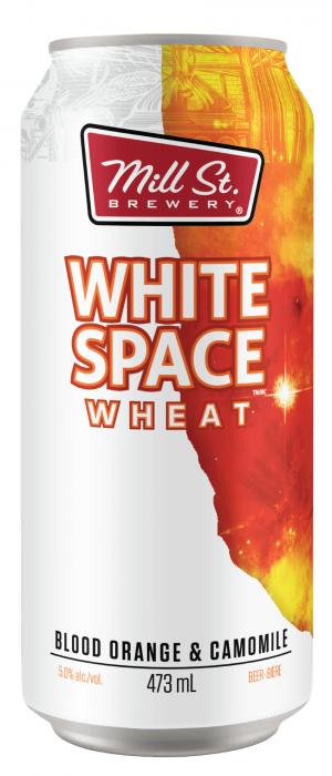 White Space Wheat by Mill Street Brewery in Ontario, Canada
