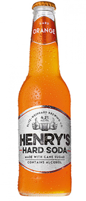 Henry's Hard Orange Soda