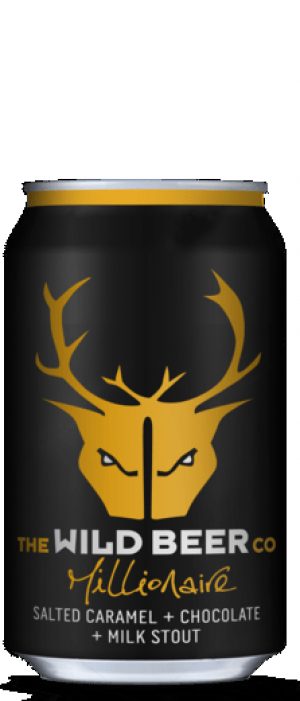Millionaire by The Wild Beer Co. in Somerset - England, United Kingdom