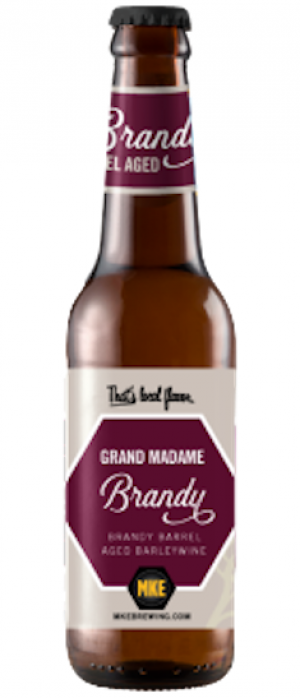 Grand Madame Barleywine by Milwaukee Brewing Company in Wisconsin, United States