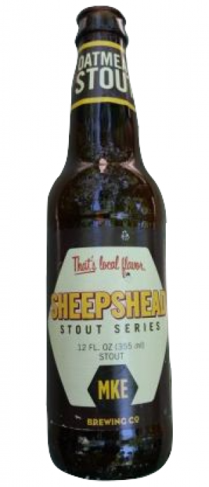 Sheephead Stout by Milwaukee Brewing Company in Wisconsin, United States