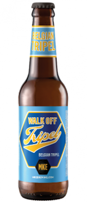 Walk Off Tripel by Milwaukee Brewing Company in Wisconsin, United States