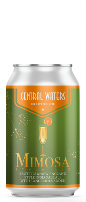 Mimosa Style Ale by Central Waters Brewing Company in Wisconsin, United States