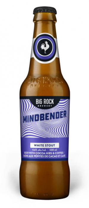 Mindbender White Stout by Big Rock Brewery in Alberta, Canada