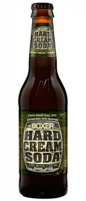 Boxer Cream Soda by Minhas Micro Brewery in Alberta, Canada