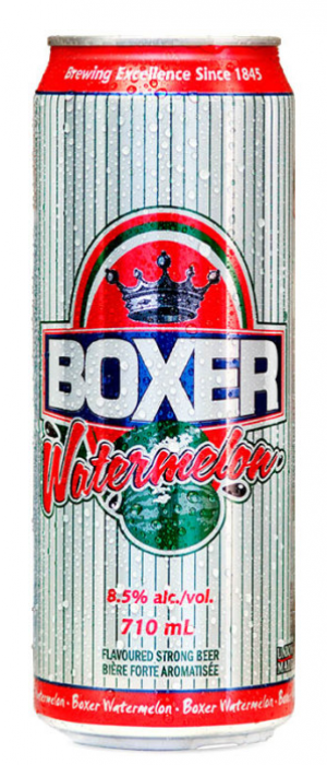 Boxer Watermelon by Minhas Micro Brewery in Alberta, Canada