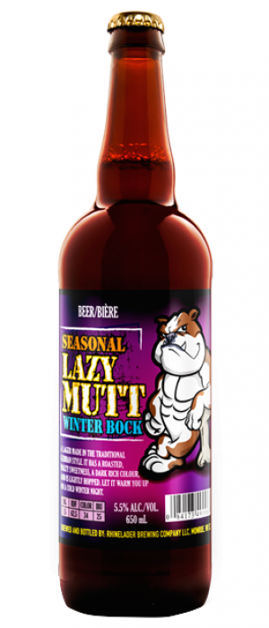 Lazy Mutt Winter Bock